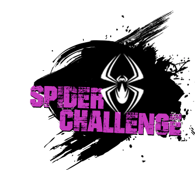 high ropes spider challenge logo
